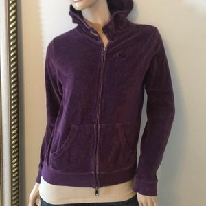 Puma Medium Med purple hooded sweatshirt